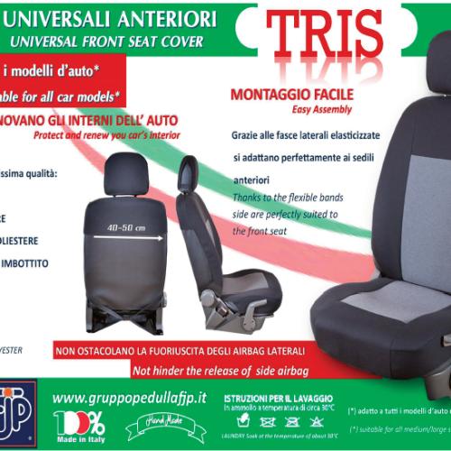 TRIS - Coprisedili Anteriori Universali