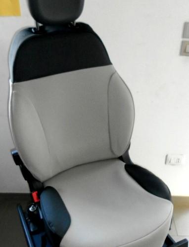 OFFERTA!! FIAT NEW PANDA '12 - coprisedili su misura con tessuti originali FIAT (beige+grigio)
