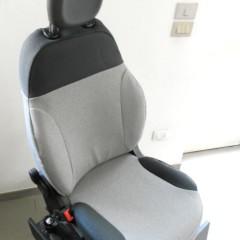 FIAT NEW PANDA '12 TESSUTO GRIGIO CHIARO + SCURO